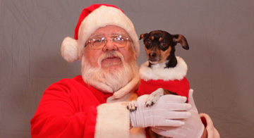 Photos with Santa at Petco